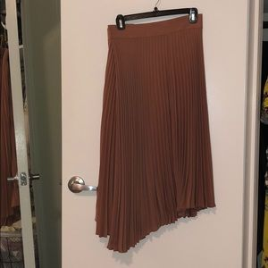 Vince size 2 maybe pleated asymmetrical skirt